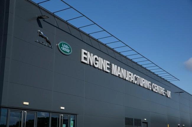 JLR engine plant, Wolverhampton