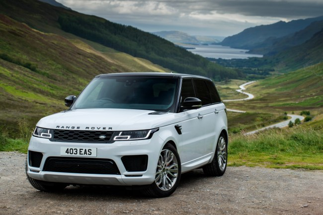 2021 Range Rover Sport straight-six mild hybrid diesel