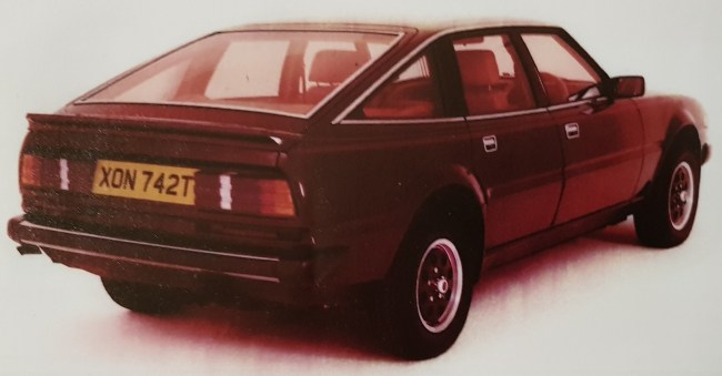 Rover Rapide - the original Vitesse