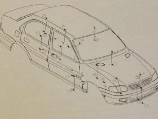 Zagato-styled Rover 100-based saloon