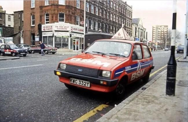 Driving Test, Stoke Newington, 1980s, britishculturearchive.co.uk. Photo © Rio Cinema Archive.