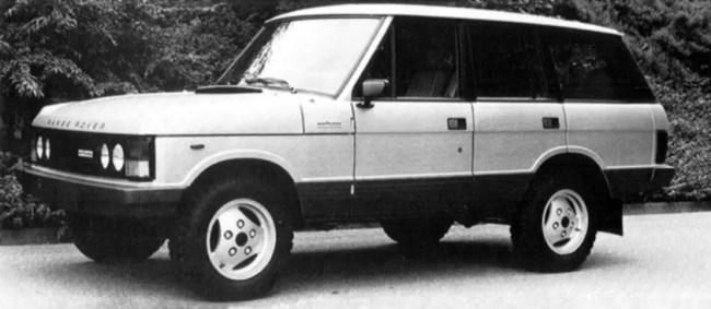 Range Rover four-door