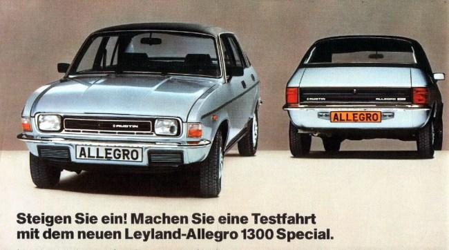 Austin Allegro 1300 Special.