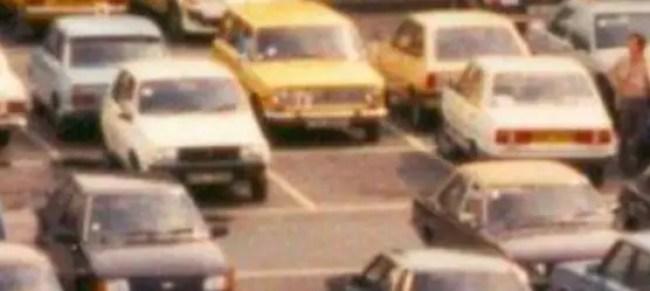 Renault 14, Triumph 1500, Lada 1300 Estate, Ford Fiesta, Fiat Supermirafiori, Ford Escort, Vauxhall 'Transcontinental' Victor.