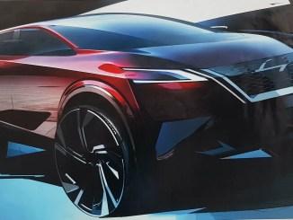 Nissan Qashqai design sketch