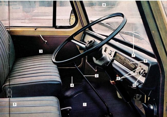The owner of an Austin 1800 would have felt at home behind the wheel of a 250 JU coach (or any of the range).