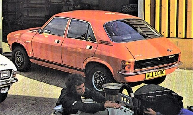 The twin carb Austin Allegro 1750 Sport (1974-75)