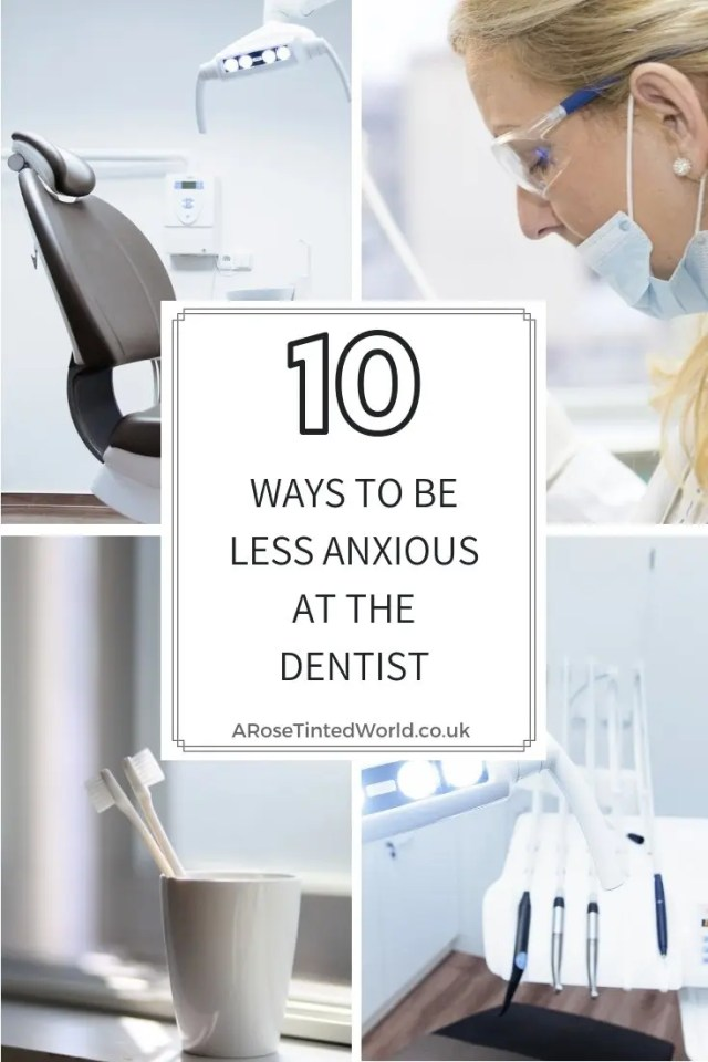 Don't be scared - The top 10 ways to be less anxious at the dentist- or scared of dental visits #dentalphobia #dentist #dentistry #dentaloffice #dentalclinic #dentalanxiety #anxiouspatient #dentalproblems