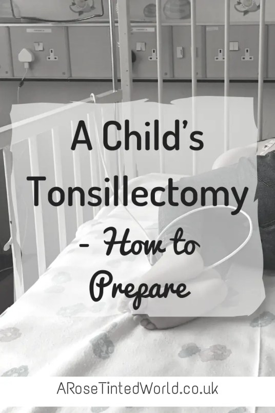 A Child's tonsillectomy