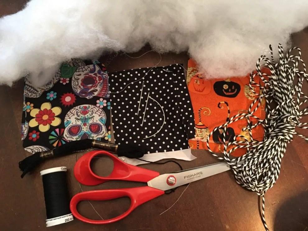 Halloween Pumpkin garland items