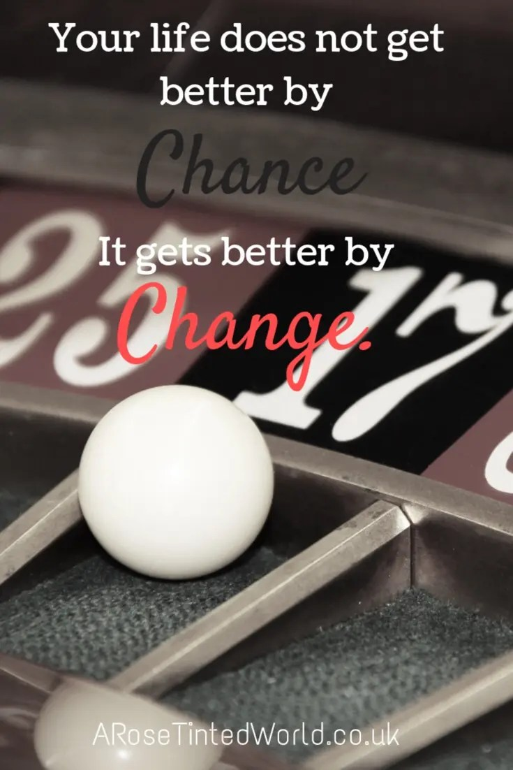 60 Positive Motivational Quotes - your life doesn't get better by chance, it gets better by change