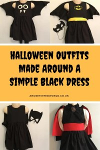 Halloween Outfits Made Around A simple Black Dress