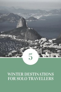 5 winter destinations for solo travellers