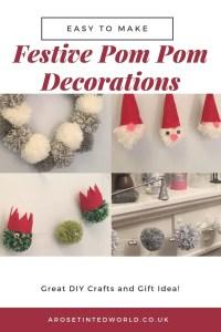 Christmas Pom Pom Crafts