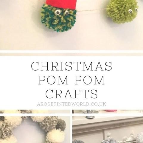 Christmas Pom-Pom Crafts