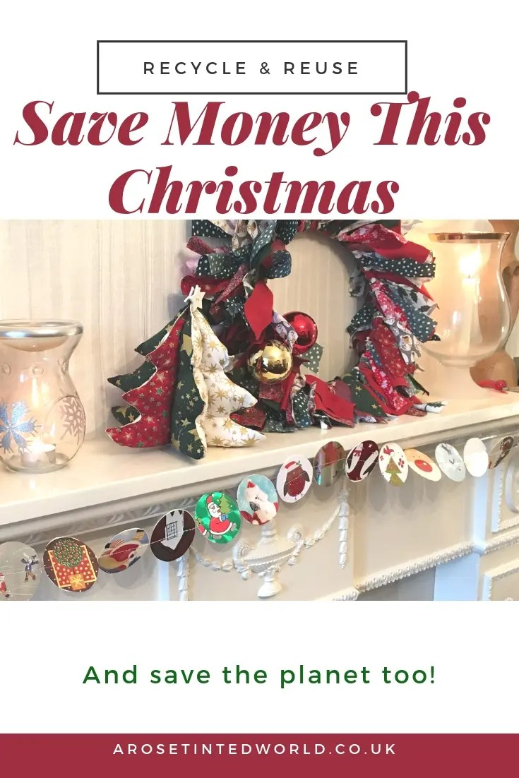 Zero Waste Christmas Tips - A Merry Lagom Christmas - here are some ideas hints tips and tricks on how to reuse, recycle and upcycle in order to have a more zero waste festive season . Holiday ideas on reducing waste and reduce plastic pollution this Xmas #lagom #christmas #zerowaste #christmascrafts #frugalchristmas #christmasdiy#christmasdecor #zerowastechristmas