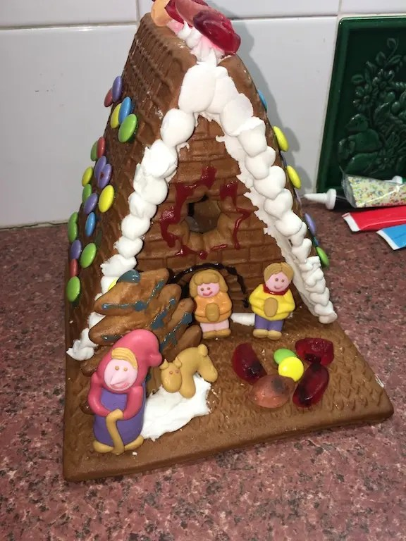 2nd of December - gingerbread house 2018
