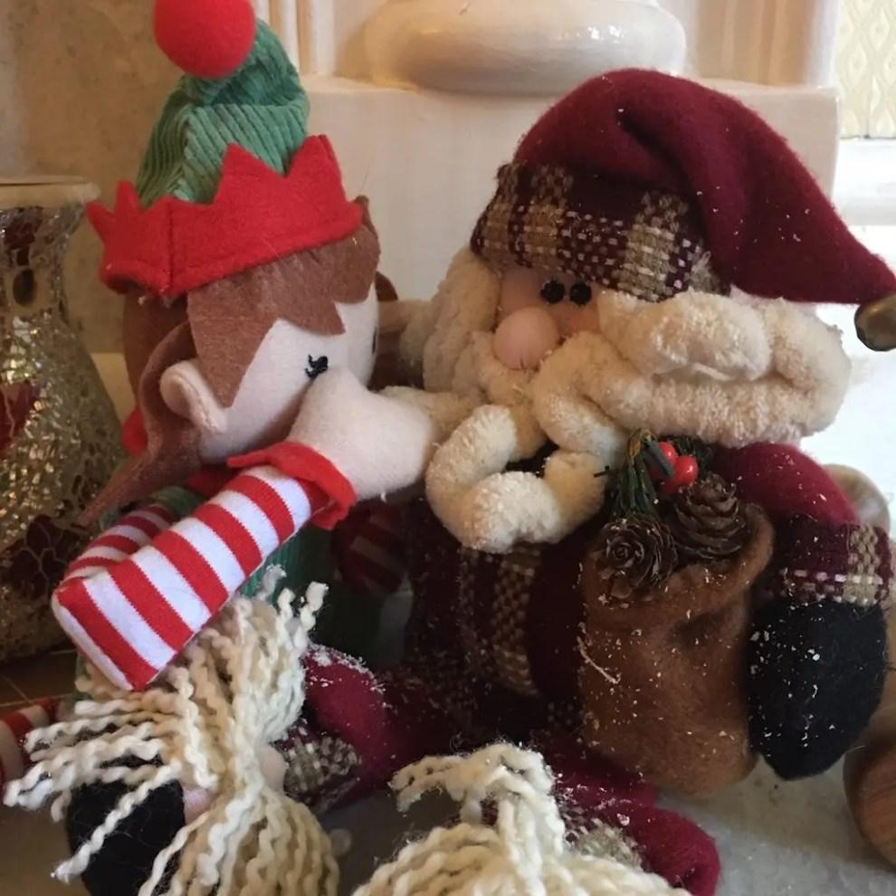 11th of December - elf and Santa
