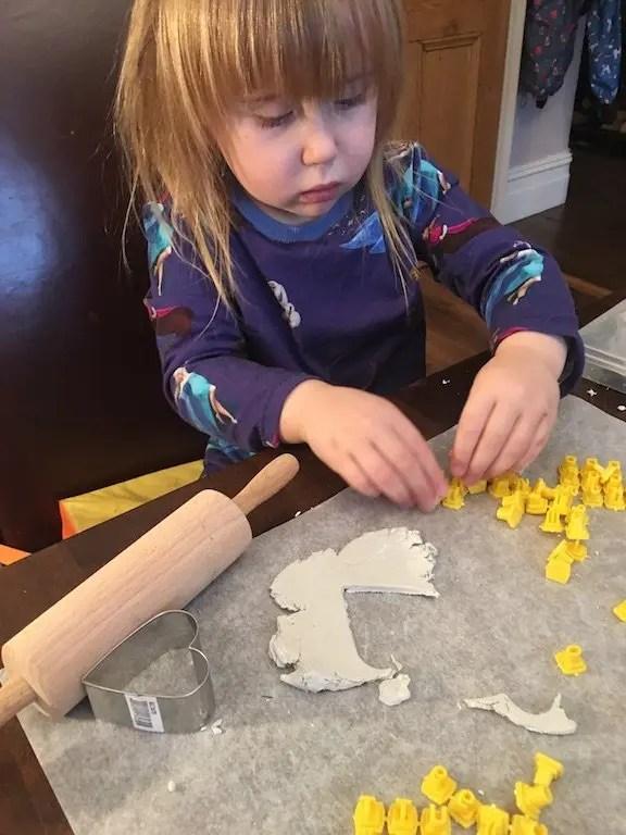 5th of December - Elizabeth air drying clay