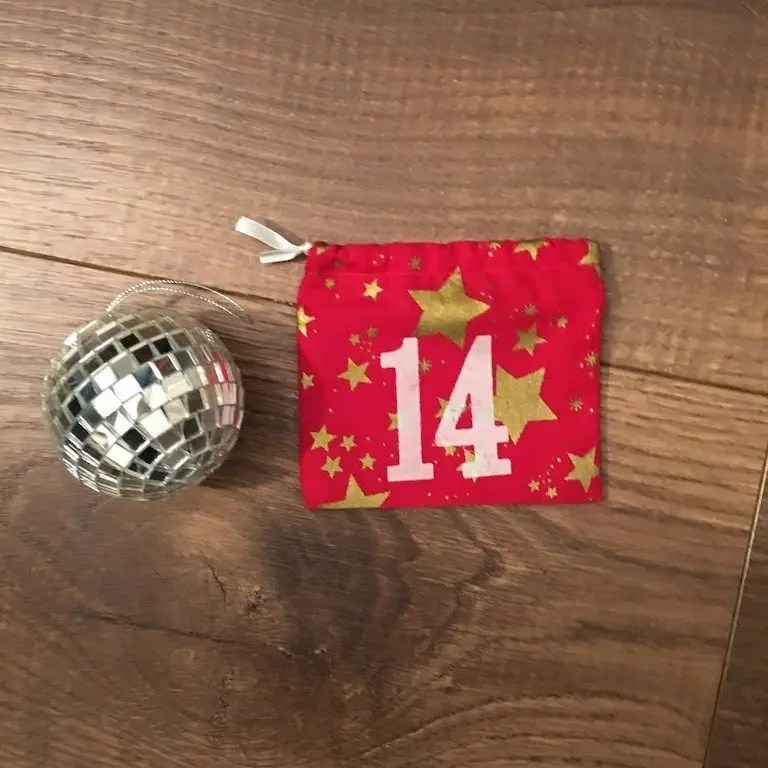 14th of December - advent bag