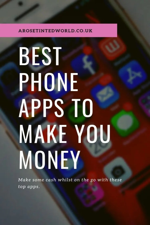 Best Phone Apps To Make You Money