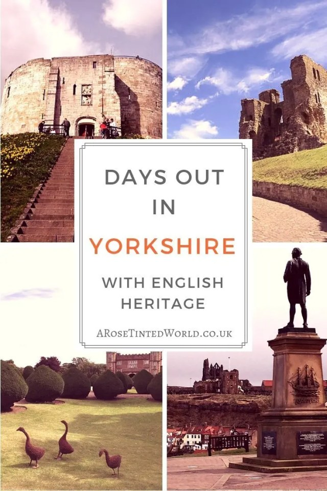 Days Out In Yorkshire with English Heritage