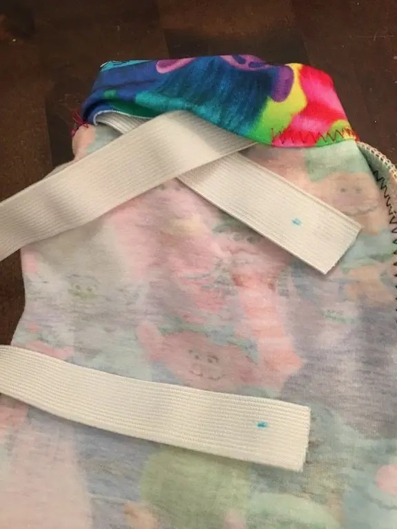 How To Make Childrens' Leggings Without Needing A Pattern - waistband