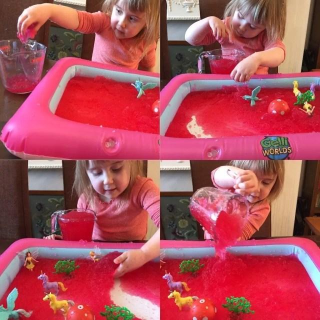 Zimpli Kids Gelli Worlds Fantasy Pack - gel and jug play