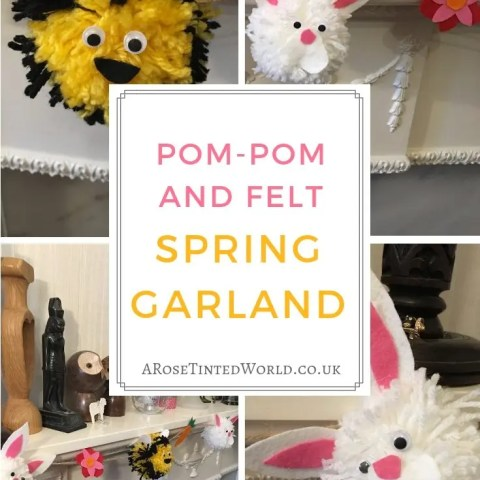 Pom Pom Spring Garland