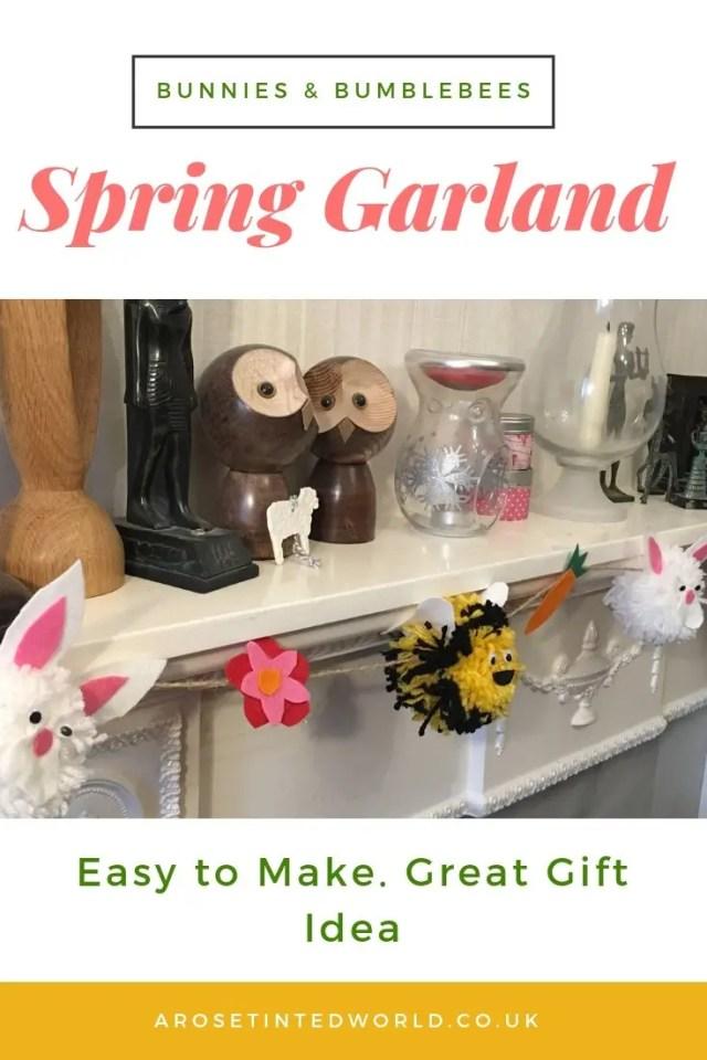 Pompom Spring Garland