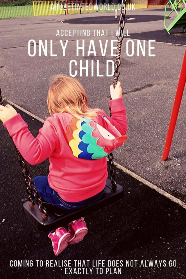 Accepting That I'll Only Have One Child ⋆ Older motherhood. Mum in my late 40s. Barriers to conceiving again. Acceptance and making piece with knowing that you're having an only child. Benefits of having an only child. #oldermother #onlychild #motherhood #parenting #lifelessons #parenthood #parentingtips #parentingadvice #motherhoodtips
