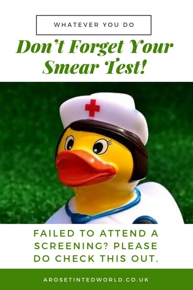 Don't Forget Your Smear Test