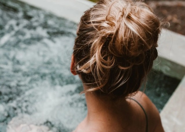 unique gift ideas for Mother's Day - portable hot tub