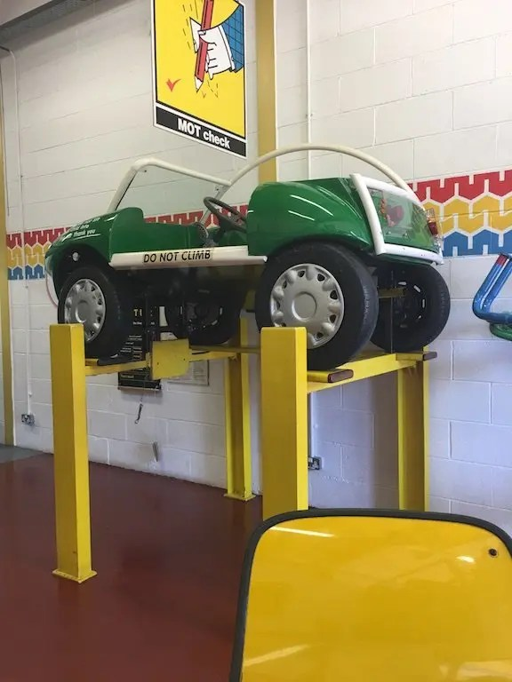 Eureka! Children's Museum - garage