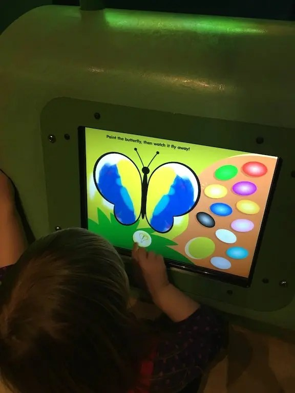 The butterfly screen