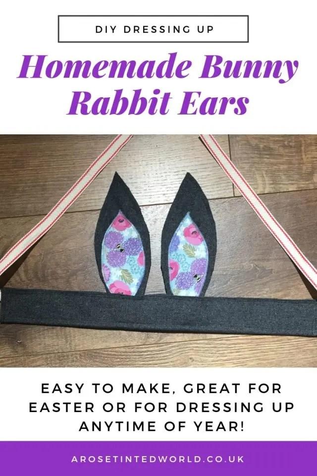 Homemade Bunny Rabbit Ears