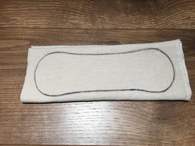 Reusable Sanitary Pads - core method 2