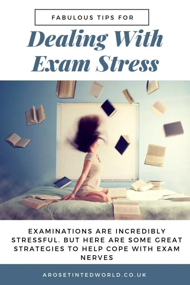 Dealing With Exam Stress And Anxiety