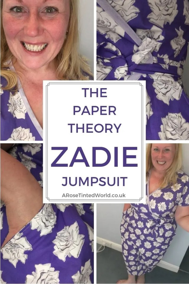 The Paper Theory Zadie Jumpsuit -What I thought of the pattern and how I made it. Wearable toile. it has pockets. Why not sew your own. Perfect summer jumpsuit pattern for more advanced sewers. Advanced beginner sewing project for dress makers. #jumpsuit #sewingtips #sewingpattern #sewing #jumpsuitpattern #advancedbeginnerssewingpattern #ithaspockets
