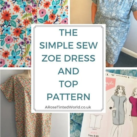 The Simple Sew Zoe Dress and Top