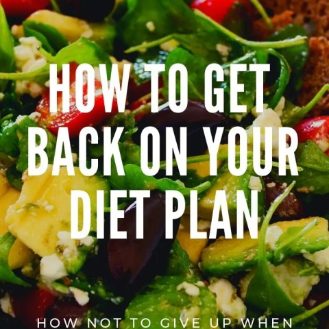 How To Get Back On Your Diet Plan