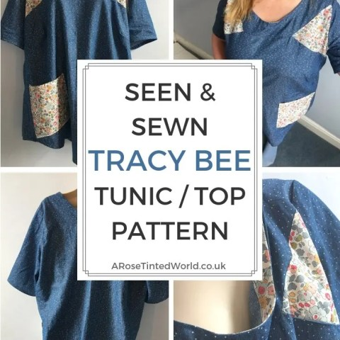 The Seen And Sewn Tracy Bee Tunic Pattern