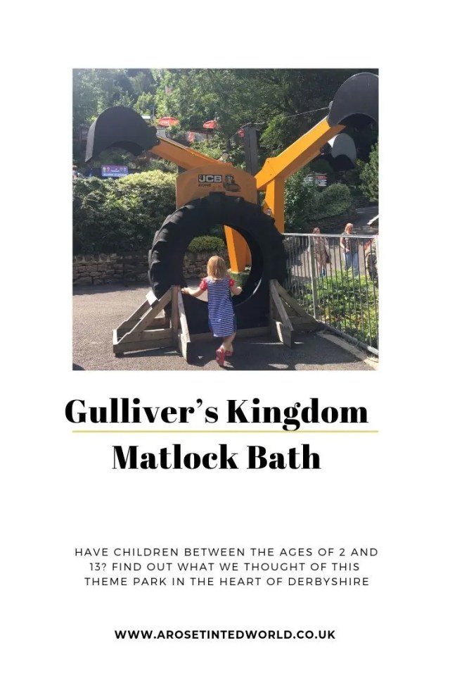 Gulliver's Kingdom at Matlock Bath - theme park in Derbyshire. Find out what we thought of this day out attraction specifically aimed at children 2 to 13 years of age #themepark #daysoutinUK #daysoutinDerbyshire #Derbyshire #DerbyshireDaysOut #DaysOutWithKids #KidsDaysOut #Themeparks #Attractions #DerbyshireDayOut #DerbyshireAttractions