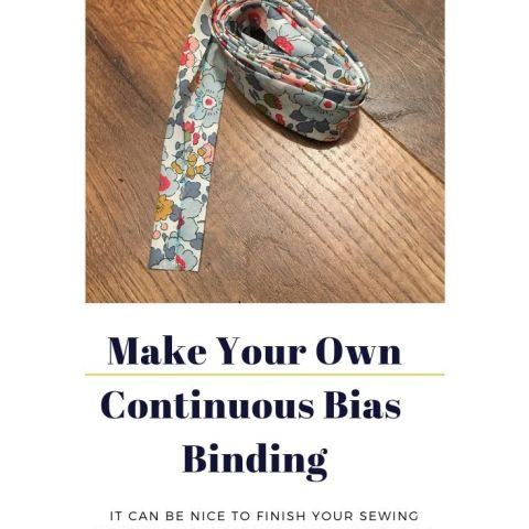 How To Make Your Own Continuous Bias Binding