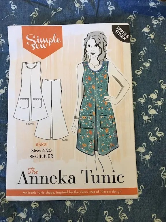 Picture of the Simple Sew Anneka Tunic pattern sleeve