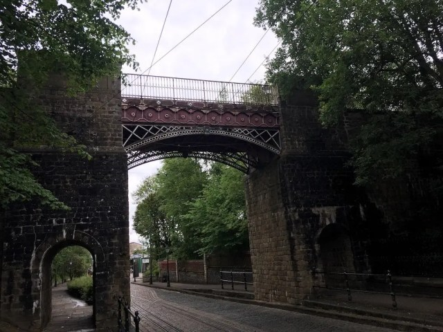 The Bowes Lyon Bridge - Crich Tramway Village