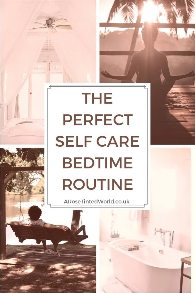 The perfect self care bedtime routine. Some ideas to help you care for yourself, by winding down properly in preparation for bedtime. Follow these hints tips tricks and hacks to get the perfect nights sleep! #sleepless #winddown #selfcare #cooldown #waystocooldown #coolbedroom #insomnia #insomniahelp #windingdown #perfectsleep