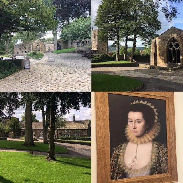 skipton castle grounds