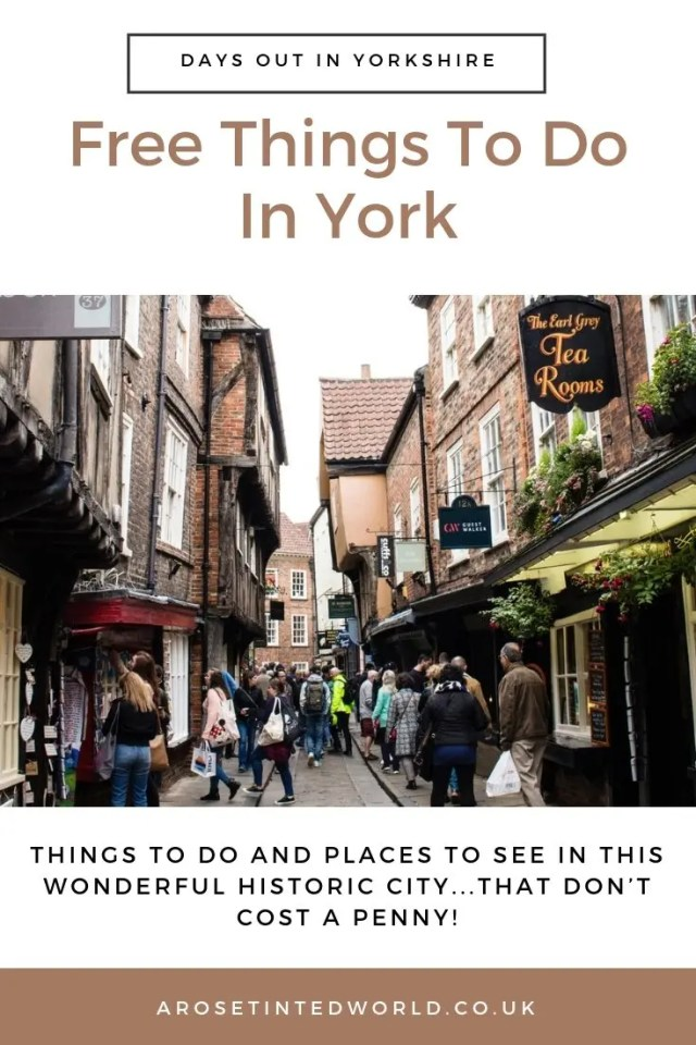 Free Things To Do In York ⋆ Ideas for day out in York that are free and cheap. Entertainment, museums, activities, playgrounds, parks, history, gardens. Children day trip. Yorkshire Activities. #northyorkshire #freedaysout #dayoutyork #trips #dayout #york #yorkshire #DayOutYorkshire #culture #history