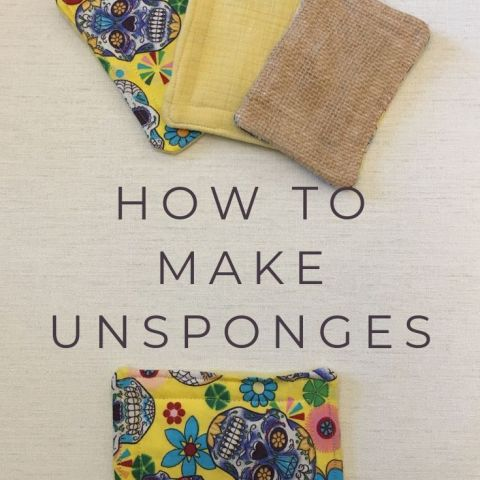 How To Make Unsponges – Zero Waste Dish Scrubbers
